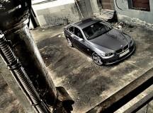 BMW M3 and Alpina B6 at Silverstone