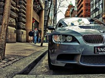 Fastest Man in the World, Crashes His BMW M3